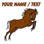 Custom Brown Stallion