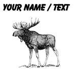 Custom Moose Sketch
