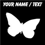 Custom Butterfly Silhouette