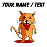 Custom Red Fox Cartoon