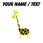 Custom Cartoon Giraffe