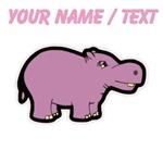 Custom Purple Hippo