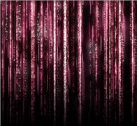 Digital Rain - Red