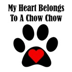 My Heart Belongs To A Chow Chow