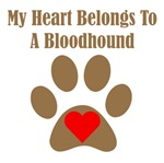 My Heart Belongs To A Bloodhound
