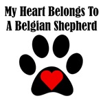 My Heart Belongs To A Belgian Shepherd