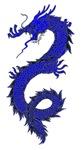 Blue Dragon Serpent