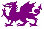 Purple Gargoyle Dragon