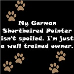 Well Trained German Shorthaired Pointer Owner