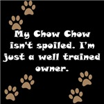 Well Trained Chow Chow Owner