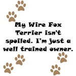 Well Trained Wire Fox Terrier Owner