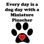 Miniature Pinscher Dog Day