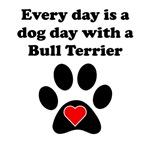 Bull Terrier Dog Day