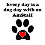 AmStaff Dog Day