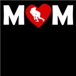 Rugby Tackle Heart Mom