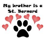 My Brother Is A St. Bernard