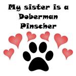 My Sister Is A Doberman Pinscher