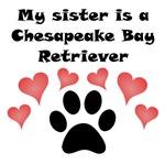 My Sister Is A Chesapeake Bay Retriever