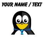 Custom Necktie Penguin