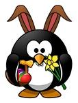 Easter Bunny Penguin