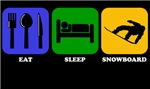 Eat Sleep Snowboard