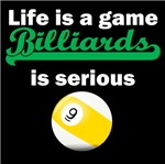 Billiards Is Serious