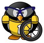 Cyclist Penguin