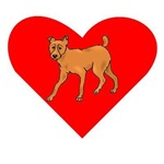 Miniature Pinscher Heart