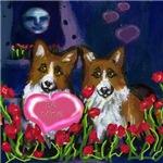 WELSH CORGI Valentine