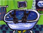 SCOTTISH TERRIER art