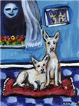 CANAAN DOG art