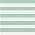 Mint and Cream Stripes