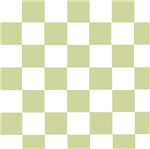 Checkered Pale Green
