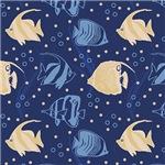 Blue Fish Sea