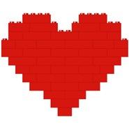 I heart building blocks