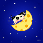 The Cow Jumped Over the Cheese Moon