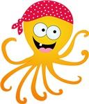 Happy Pirate Octopus