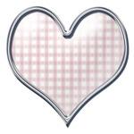 Whimsical Plaid Hearts