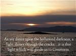 The Light, Photo w/ Poetry