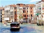 Italian Boat Ride, Photo / Digital Painting