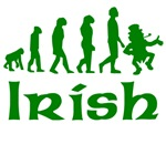 Green Irish Leprechaun Evolution