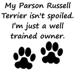 Well Trained Parson Russell Terrier Owner