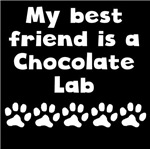 My Best Friend Is A Chocolate Lab