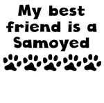 My Best Friend Is A Samoyed