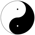 Daoism Yin & Yang ~ Without darkness, there is no light: balance and harmony in opposites.