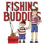 Dad's Day Fishing Buddies T-shirts and Gifts