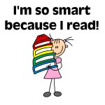 Smart Because I Read (Girl)