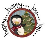 Penguin Happy Joy Tshirts and Gifts