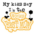 Kids World's Best Mom T-shirts and Gifts