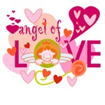 Angel of Love T-shirts and Gifts